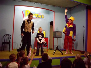 Mr Stix and Peanut at Pontins