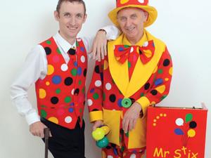 Mr Stix and Peanut